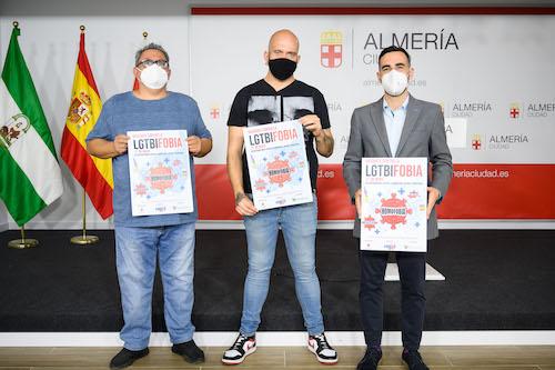 Almería campaña lgtbifobia