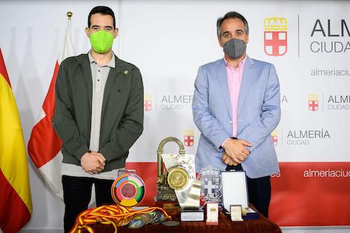 Almería deportes Carlos Tejada