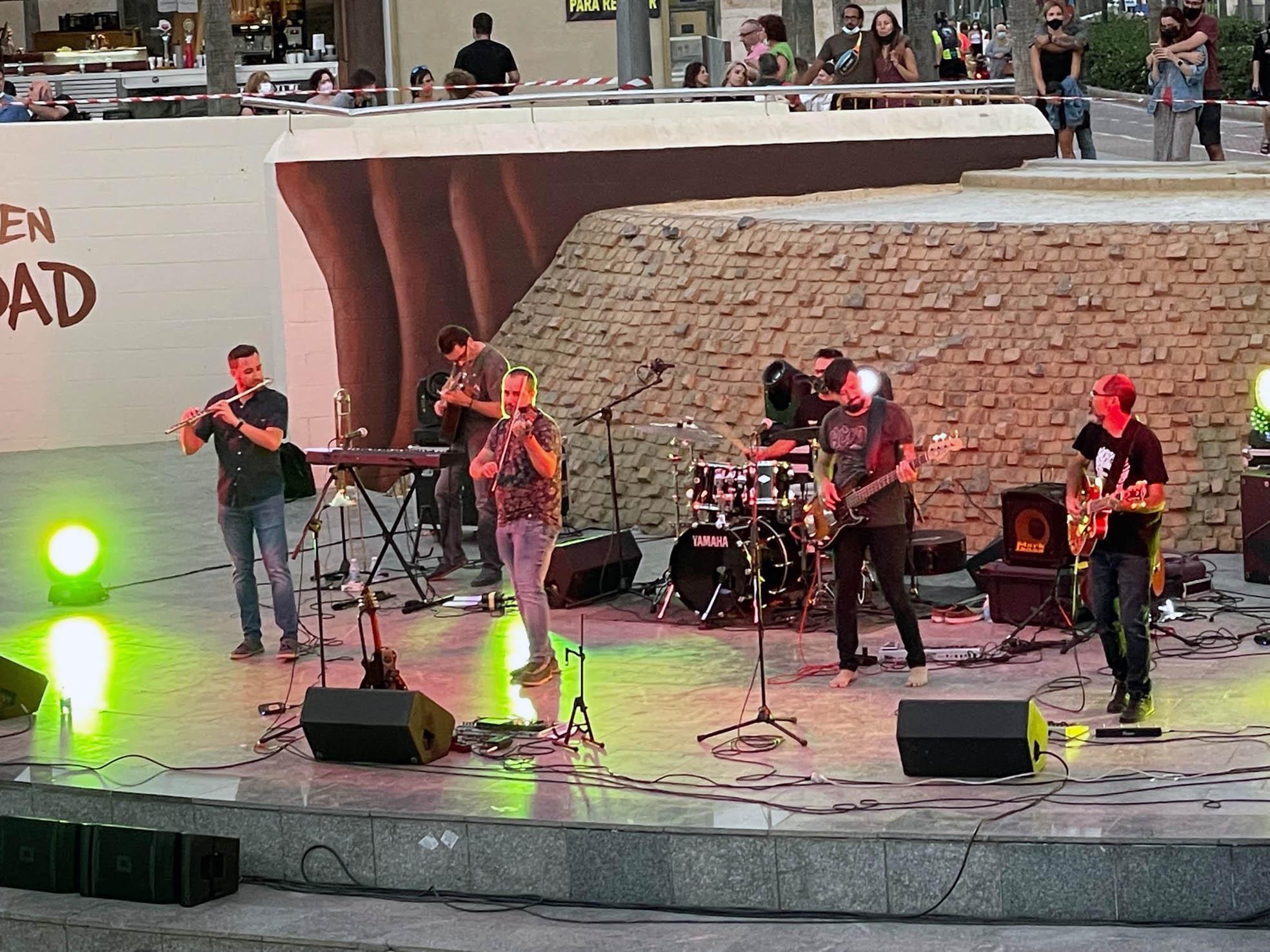Almería conciertos Alamar anfiteatro