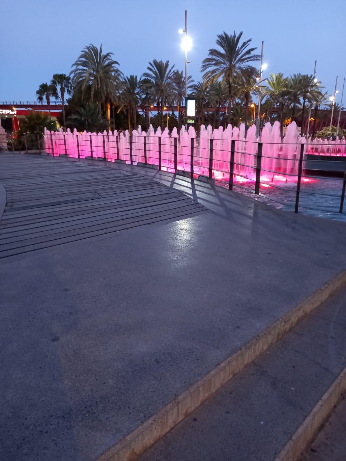 Almería iluminación solidaria Dravet
