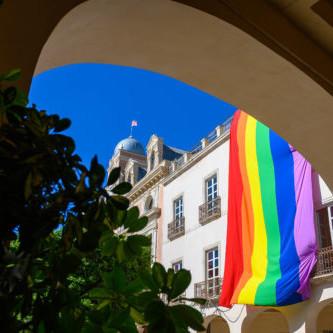 Ayuntamiento Almería bandera LGTBI