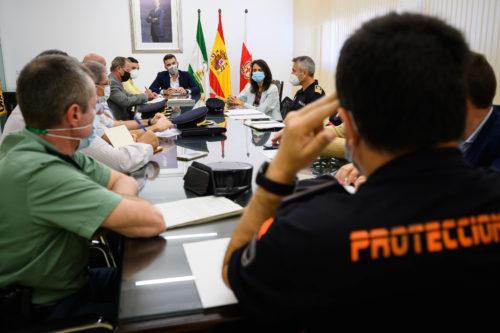 Almería seguridad San Juan