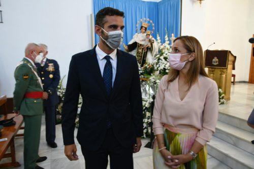 Alcalde Almería Virgen Carmen