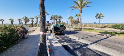 Construcción carril bici Almería