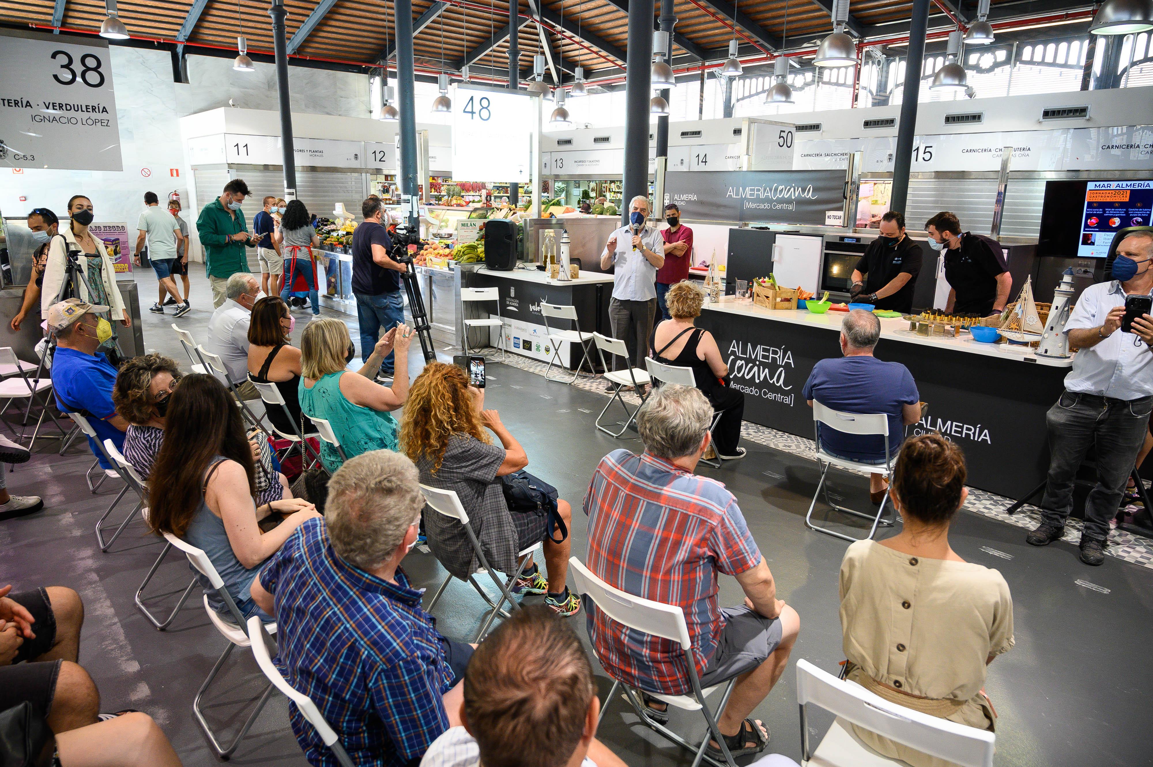 Jornadas gastronómicas mercado Almería