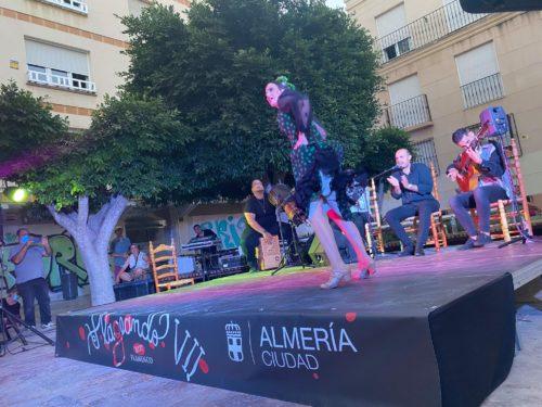 Almería Plazeando María Maquez