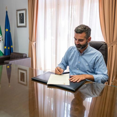 Alcalde Almería tren ministerio