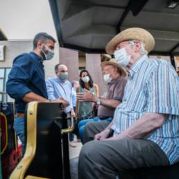 Alcalde Almería residencia mayores