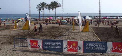 Almería deportes voley playa