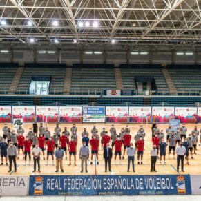 Selección española voley Almería