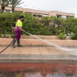 Almería limpieza intensiva Retamar