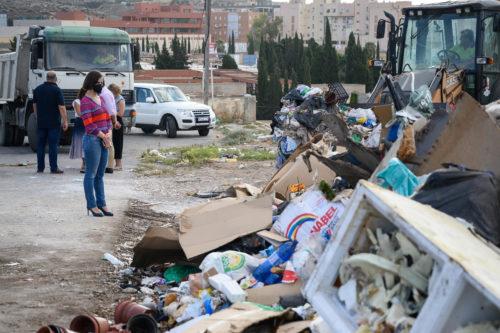 Almería limpieza Los Almendros