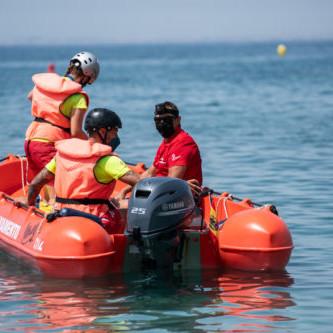 Almería simulacro salvamento playas