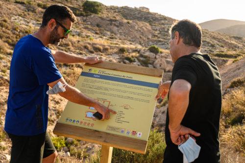Almería sendero La Peseta