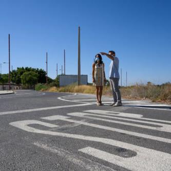 Señalización La Goleta Almería