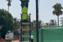 Alumbrado público Ayuntamiento Almería