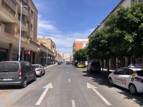Calle Blas Infante Almería