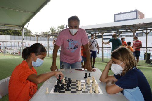 Almería deportes torneo ajedrez