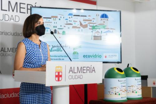 Almería Banderas verdes Ecovidrio