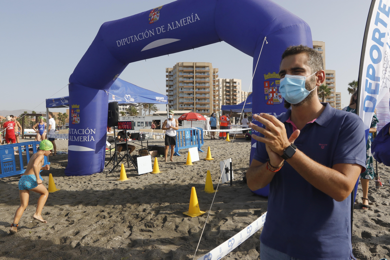 Alcalde Almería travesía nado