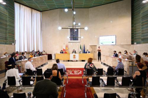 Pleno agosto Ayuntamiento Almería