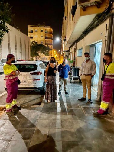 Almería refuerzo limpieza verano