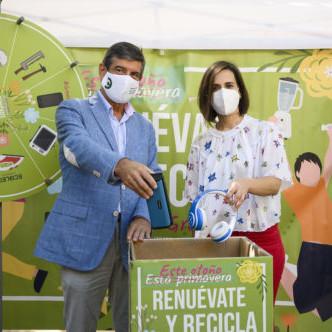 Almería campaña reciclaje Ecolec