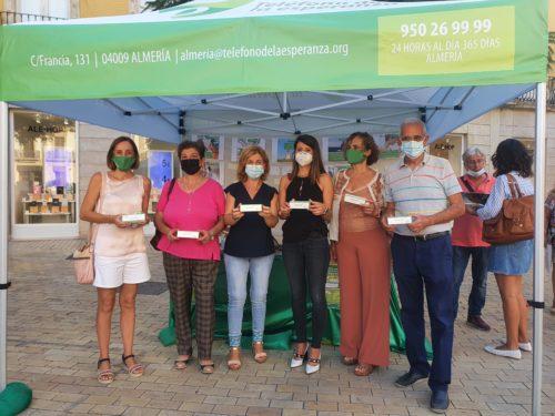 Manifiesto prevención suicidio Almería