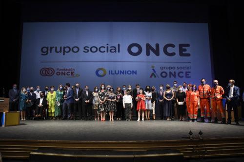 Premios solidarios Once Andalucía