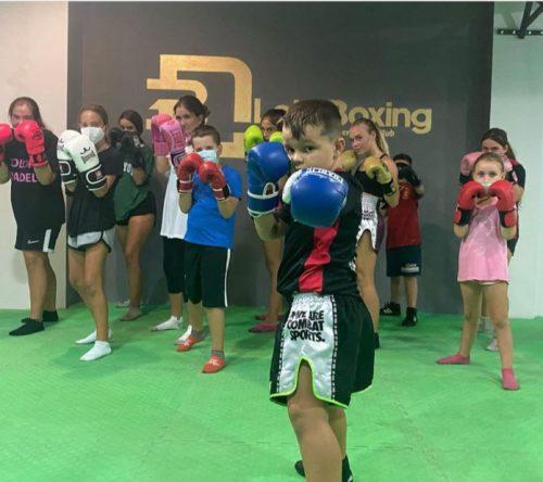 EDM Almería Lola boxing