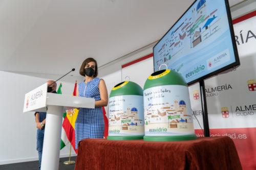 Banderas verdes reciclaje Almería