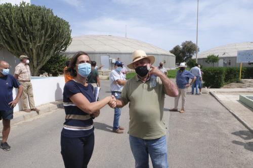 Almería convenio regantes desaladora