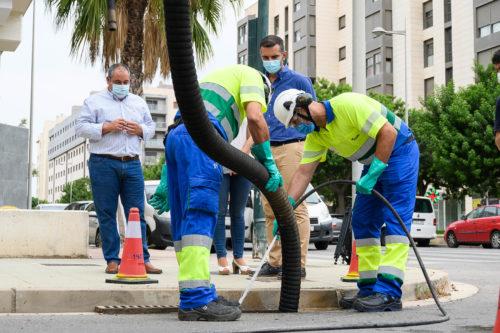 Almería limpieza imbornales
