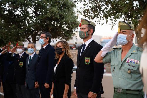 Hermandad legionarios honor Almería