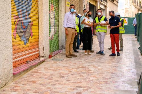 Almería obras plaza administración