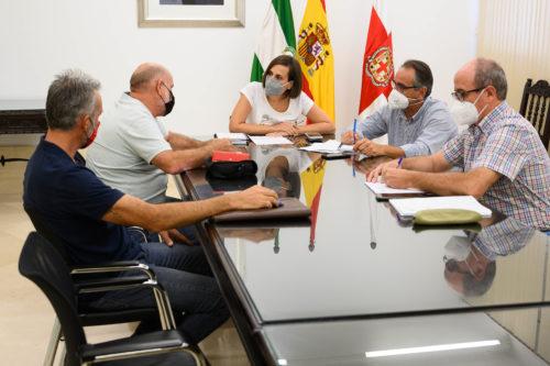 Almería sostenibilidad reunión regantes