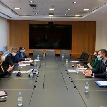 Alcalde Almería reunión ADIF