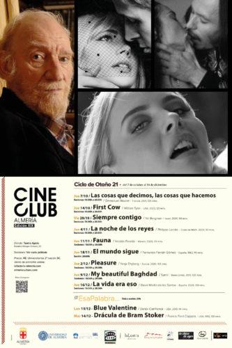 Almería cineclub otoño 2021