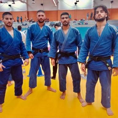 Almería judokas liga nacional