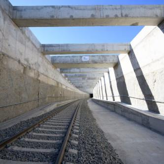Obras Almería Alta Velocidad